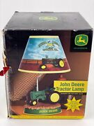 John Deere Tractor Lamp Animated With Real Motor Sound New Sealed
