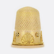 Victorian 15ct Yellow Gold Sewing Thimble