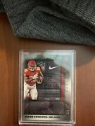 2020 Panini Black Clyde Edwards-helaire Rc Rpa 2/5 Laundry Tag Chiefs