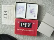 Vintage 1919 Parker Brothers Pit Card Game Complete In Box With Instructions