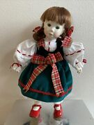 Colleen The First Belleek China Christmas Doll Limited Edition- 9500 No. 0481