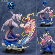 G.e.m.ex Series Pokemon Mew And Mewtwo Completed Figure Mega House Figure
