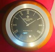 Super Rare Patek Philippe Wall Clock Beauty Goods Novelty Not For Sale Limited