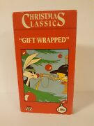 Christmas Classics Vhs Very Rare Gift Wrapped Sylvester And Tweety Nav Inc