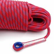 Climbing Rope Static Rock Tree Wall Gear Outdoor Survival Fire Escape Safety 50m
