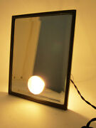 Art Deco Vintage Rare Table Mirror With Lamp Dressing Room Makeup England 20and039s