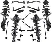 Front And Rear Struts Control Arms Tie Rods Fits 2010-2015 Chevrolet Camaro 3.6l