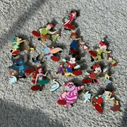 12 Days Of Christmas 2009 Disney Store Le 300 Full Set Authentic Trading Pins