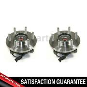 2x Centric Parts Front Axle Bearing And Hub Assembly For Ford 20112014