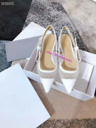 2020new Women Hot Dril Bow Heel 15mm 65mm 95mm Mesh Point Boat Shoes Size33-42