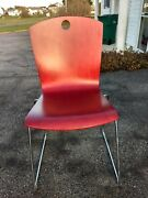 Leland Wood Stack Chairs