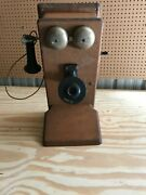 Antique Vintage Western Electric Hand Crank Telephone Receiver 1913 Pick Up