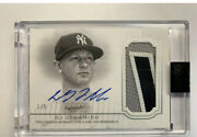 2020 Topps Dynasty Dj Lemahieu Autograph Patch Game Worn Patch Auto 1/5 Ssp
