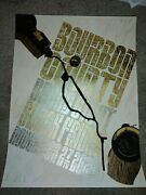2020 Goose Island Bourbon County Stout Black Friday Poster. New