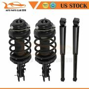 Fits 2002-2004 Nissan Pathfinder 4wd F And R Complete Struts/shocks Assembly Andtimes 4