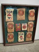 Arrow Mail Pouch Top Lucky Strike Plug Cut Tobacco Cigarette Sign Display