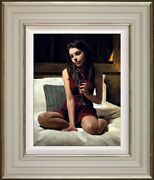 Bella By Black Frame Fabian Perez Limited Edition Signed Framed Print