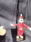 Disney Mickey Mouse Club Marionette By Bob Baker - Limited Edition