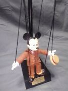 Disney Nifty Nineties Mickey Marionette By Bob Baker - Limited Edition