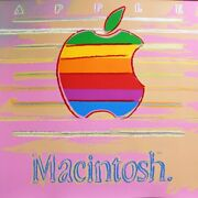 Andy Warhol- Apple - From Ads Suite-1985 -silkscreen Proof- Great For Office