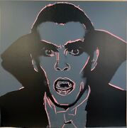 Andy Warhol -andldquodraculaandrdquo -from Myths Suite- 1981 -silkscreen Proof- A Showstopper