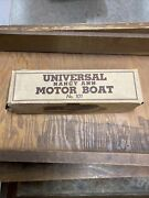 Universal Nancy Ann Motor Boat No. 101 Universal Toy And Novelty Co