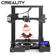 Used Creality Ender 3 Pro 3d Printer Mw Power Magnetic Heat Bed 220x220x250mm