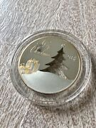 2012 Merry Christmas Tree 2oz Sterling Silver Coin Island Coa