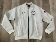 Nike Paralympic Team Usa 2020 Tech Pack Windrunner Bomber Jacket Menandrsquos Size Xl