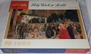 New Pomegranate 1000 Piece Jigsaw Puzzle Holy Week In Seville