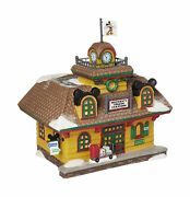 Department 56 Disney Village Mickey Mouse Train Station Lit Building 5.67 In...