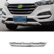 Fit For Hyundai Tucson 15-2018 Front Skid Plate Bumper Board Guard Steel Silver