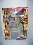 Lanard Toys The Corps Rock Mountain Stronghold Playset. New Htf.