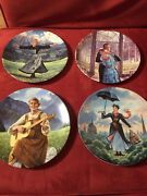 The Sound Of Music And Mary Poppins Collectible Plates