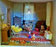 Furnished Doll House With Must See Video Linked In The Description 48x36x25