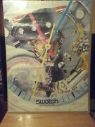 Swatch Watch 80s Vintage Jellyfish Poster Wall Art 23.5 X 31 Full Size