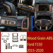 18andtimesabs Inner Window Lift Buttonandsteering Wheel Panel Trim For Ford F150 2015-20
