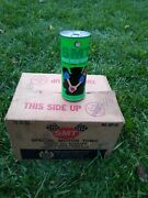 Vintage Nos Full Case Gold Eagle Smt Special Motor Tonic Rare Oil Cans Man Cave