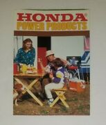 Honda Power Products Color Flyer
