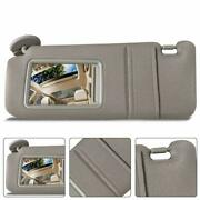 New Lh Windshield Sun Visor Beige W/ Sunroof And Light For Toyota Venza 2009-2015