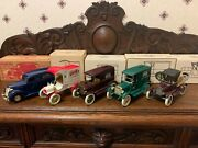 5 Ertl Peoples National Bank Of Kingfisher Okla 125 Scale Die Cast Coin Banks