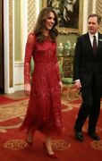 Nwt Needle And Thread Aurora Gown As Seen On Kate Middleton Sold Out Size 0