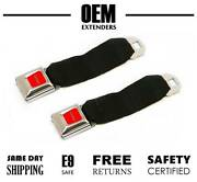 2 - Pack Seat Belt Extender / Extension For 1987 - 1993 Jeep Cherokee