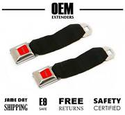 2 - Pack Seat Belt Extender / Extension For 1975 Ford F350 / F-350 Pickup