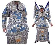Vintage Chinese Embroidery Opera Set