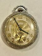 Sale__antique Eglin 10k Gold Filled Pocket Watch Not Working See Watches