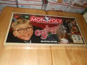 A Christmas Story Collectorand039s Edition Monopoly Board Game Incl 6 Col Tokens 2007