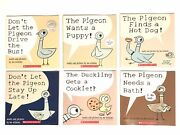 New Set Of 6 Sealed Donand039t Let The Pigeon Books By Mo Willems Childrenand039s Book Lot