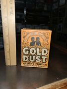 Foreign Sample 1900and039s Lever Bros. Gold Dust Washing Powder Soap Box