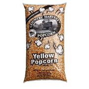 Country Harvest 50 Pound Bulk Bag Butterfly Yellow Popcorn 4-12.5 Lb Bags